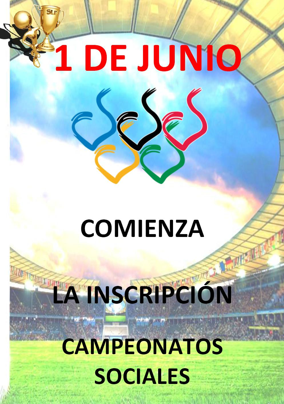 INSCRIPCION CAMPEONATOS SOCIALES