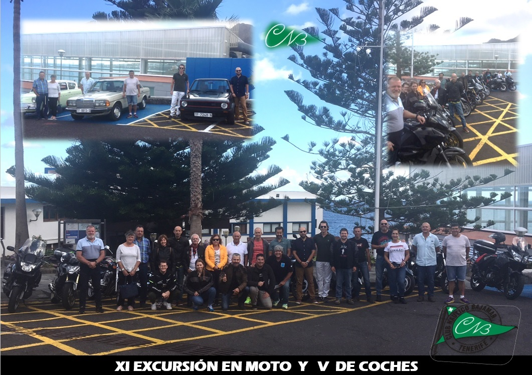 XI EXCURSION EN MOTO Y V DE COCHES