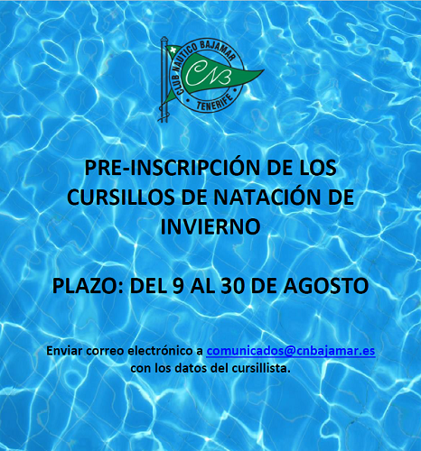 cartel pre inscripcion 2018